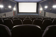 Cinema interior Stock Photo