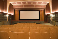 Cinema interior Stock Photos