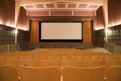 Cinema interior stock photos