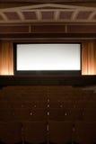Cinema interior royalty free stock image