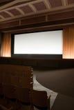Cinema interior stock photography