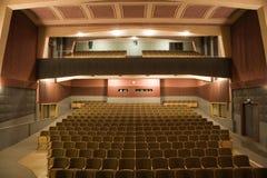 Cinema interior stock photo