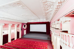 Cinema interior. Stock Photos