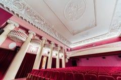Cinema interior. Royalty Free Stock Photography