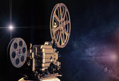 Cinema - Machine Of Dreams Stock Photography