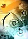 Cinema or movie background Stock Photography