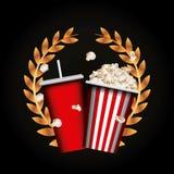 Cinema and movie design Stock Image