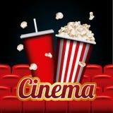 Cinema and movie design Royalty Free Stock Image