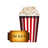 Cinema and movie design Stock Photos