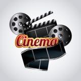 Cinema and movie design Royalty Free Stock Photo