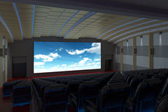Cinema Movie Theater Stock Image