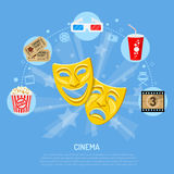 Cinema and Movie time Royalty Free Stock Photography