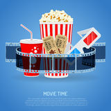 Cinema and Movie time Royalty Free Stock Images