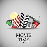 Cinema movie time Stock Images