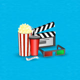 Cinema movie time Royalty Free Stock Photography