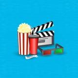 Cinema movie time Royalty Free Stock Photography