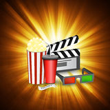 Cinema movie time Stock Photography
