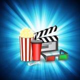 Cinema movie time Royalty Free Stock Photo