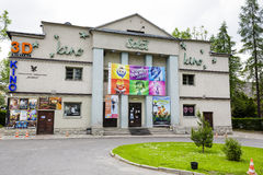 Cinema named Sokol in Zakopane Stock Images