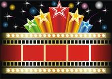 Cinema neon Stock Photo