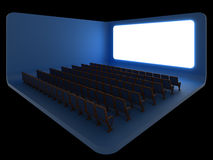 Cinema. Night version Royalty Free Stock Images