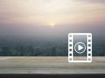 Cinema online concept Stock Image