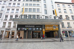 Cinema Pathe Bellecour in Lyon Royalty Free Stock Images