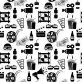 Cinema pattern Royalty Free Stock Image