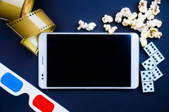 Cinema pc Royalty Free Stock Images