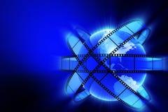 Cinema planet Royalty Free Stock Photos