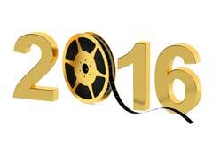2016 cinema production concept Royalty Free Stock Photos