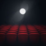 Cinema Projector. Cinema hall (light projector), eps 10 vector illustration