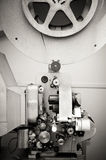 Cinema projector for 16 mm movie, old vintage Royalty Free Stock Photos