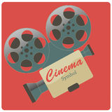 Cinema recorder Royalty Free Stock Image