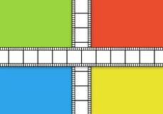 Cinema reel background Stock Photography
