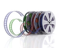 Cinema reels Royalty Free Stock Photos