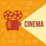 Cinema retro projector Stock Photography
