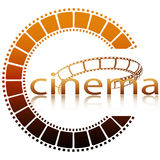 Cinema ring Royalty Free Stock Image