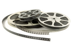 Cinema roll film Stock Photography