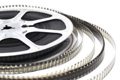 Cinema roll film Stock Photos