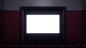 Cinema room Stock Photo