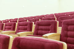 Cinema room Royalty Free Stock Photography