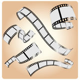 Cinema's tapes Stock Images