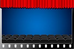Cinema Screen Stock Images