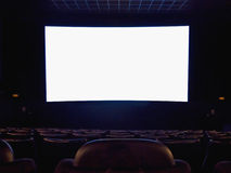 Cinema screen Royalty Free Stock Photo