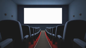 Cinema Screen Royalty Free Stock Image