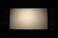 Cinema screen Royalty Free Stock Photography
