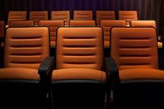 Cinema seats Royalty Free Stock Photos