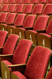 Cinema seats Royalty Free Stock Photo