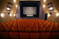 Cinema seats Stock Images